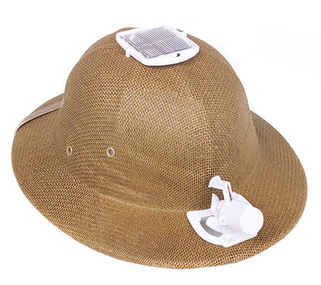 Lightweight Safari Style Solar Powered Cool Hat. product thumbnail. In Stock 909673bbdd5