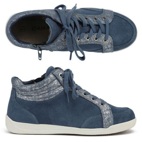 Amortyl, Baskets Femmes, Bleu (Bleu Grise), 40 EUDamart