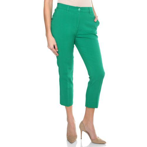 DAMART Pantalon slim 7 8 Taille haute Semi-élastiquée - QVC France 2c0dc4bcf08