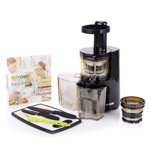 biochef atlas extracteur de jus froid avec accessoires. Black Bedroom Furniture Sets. Home Design Ideas