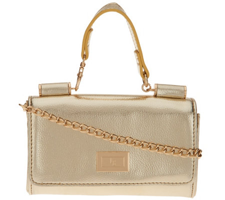 Petite Handbag with Detachable Chain by Lori Greiner