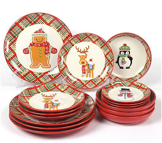 Temp-tations Seasonal 16-Piece Dinnerware Set