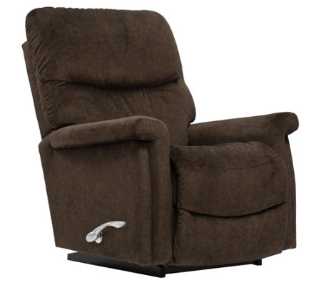 La-Z-Boy Baylor Manual Recliner with I-Clean Fabric & AirForm Seat