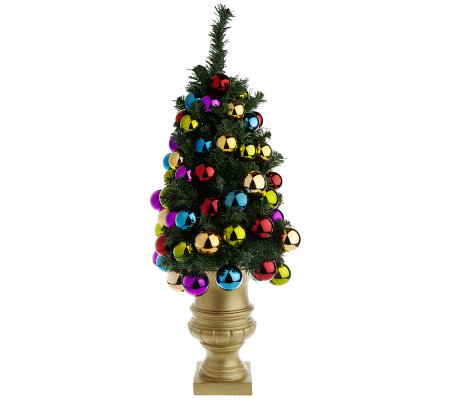 fully decorated tabletop 3 christmas tree by david shindler - Fully Decorated Christmas Trees