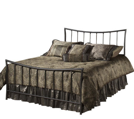 Hillsdale Furniture Edgewood Queen Bed-Magnesium Pewter Finish