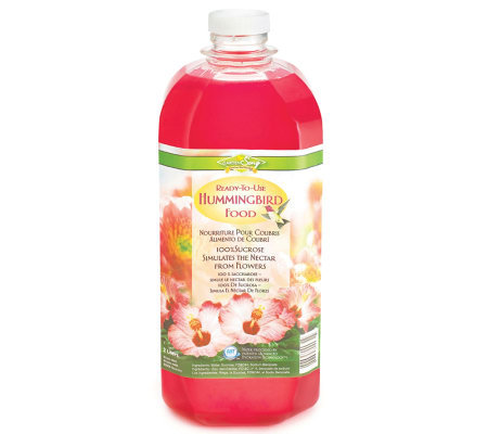 Hummingbird Nectar Ready-to-Use 2 Liter