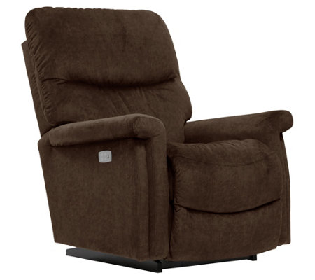 La-Z-Boy Baylor Power Recliner with I-Clean Fabric & AirForm Seat