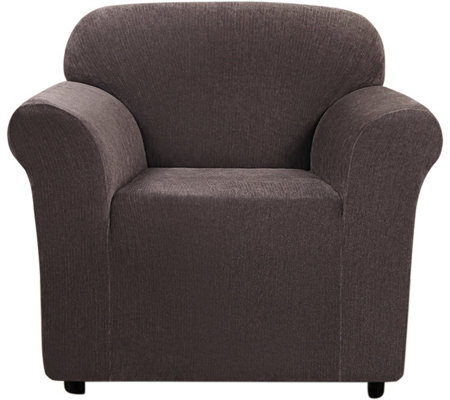 Sure Fit Stretch Chenille 1-Piece Chair Slipcover