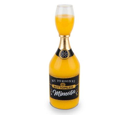 Bigmouth Bottomless Mimosa Glass
