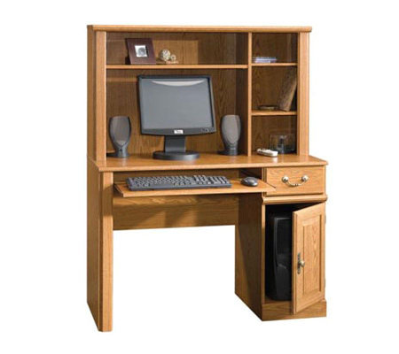 Sauder Orchard Hills Collection Desk w/ Shelf Hutch