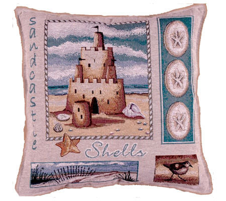 Sea and Shore Pillow by Simply Home