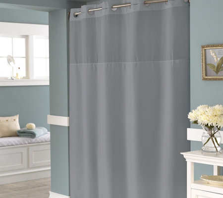 Hookless Englewood Shower Curtain With Built In Liner