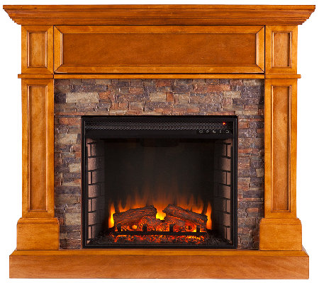 Riley Electric Media Fireplace