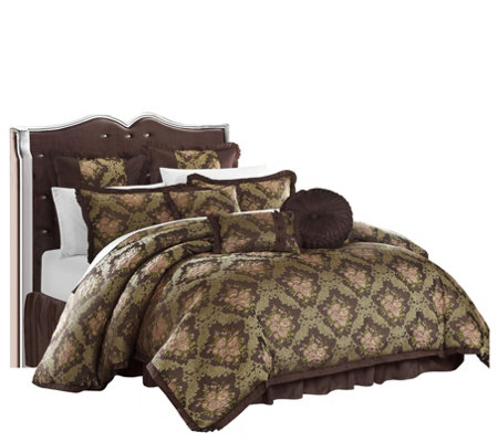 Chic Home Capelli 9 Piece King Comforter Set
