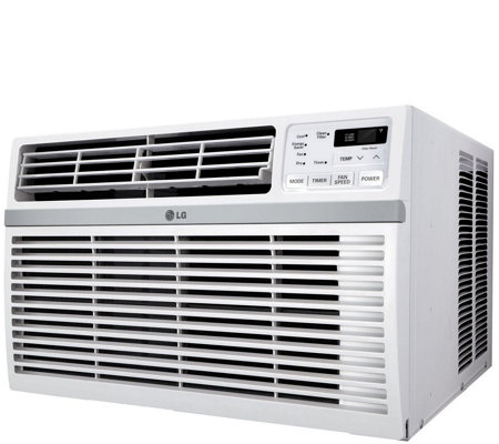 LG Window-Mount Air Conditioner for 340-Sq Ft Room with Remot