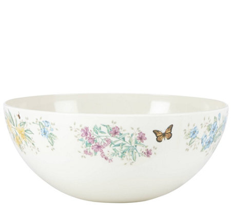 Lenox Butterfly Meadow Medium Salad Bowl