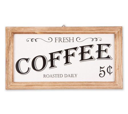 Farmhouse Coffee Sign
