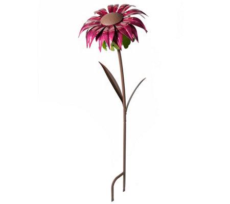 Desert Steel Bishop Dahlia Outdoor Flower Metalgarden Torch