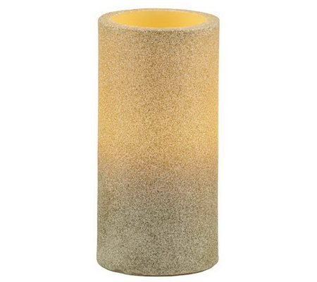 Pacific Accents Glitter Pillar