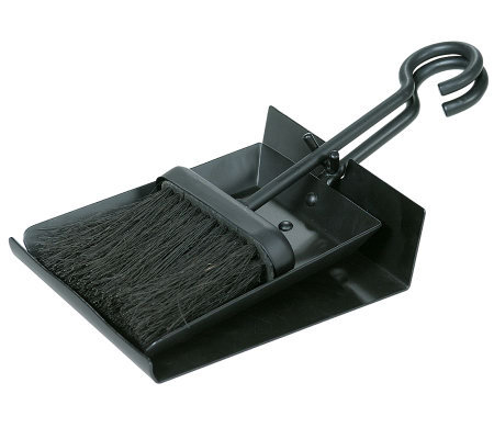 Blue Rhino UniFlame Black Shovel and Brush Set