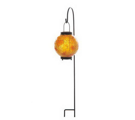Home Reflections Outdoor Mosaic Flameless Candle Lantern