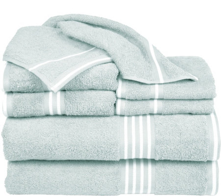 Lavish Home Rio 100% Cotton 8-Piece Towel Set