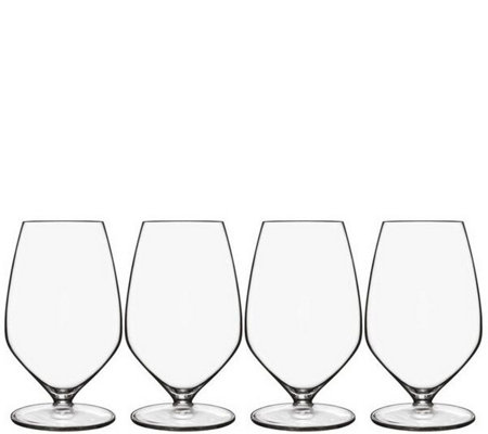 Luigi Bormioli T-Glass Set of Four 11.75-oz Sauvignon Glasses