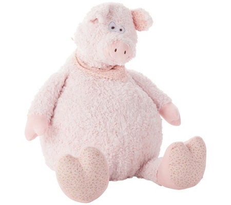 "Mina Victory Plush Pig 22"" x 26"" Kids' Pillow"