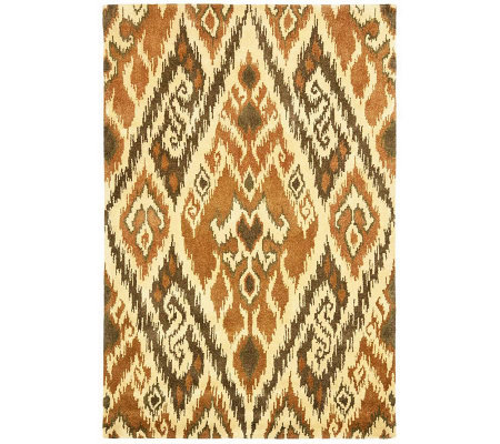Safavieh Capri Collection Ikat 3' x 5' Wool andViscoseRug