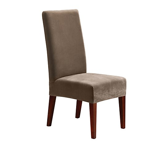 Sure Fit Stretch Pique Dining Chair, Sure Fit Slipcovers Chair