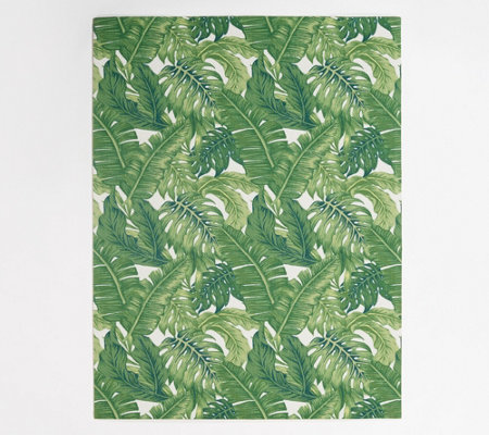G I L I Outdoor 5 3 X 7 Printed Area Rug