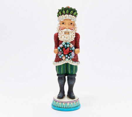 Jim Shore 11 25 Winter Wonderland Nutcracker Figure