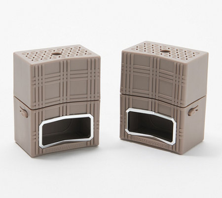"""As Is"" HomeWorx by Harry Slatkin Set of 2 Plug In Diffusers"