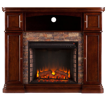 Nora Electric Media Fireplace