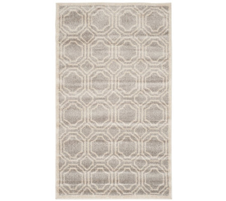 Safavieh Indoor/Outdoor Geometric Tile 3' x 5'Area Rug