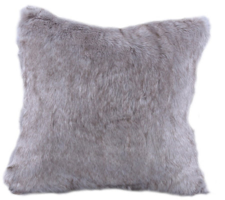 Berkshire Blanket Luxury Wolf Faux Fur Pillow