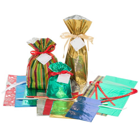 Kringle Express 30-Piece Party Gift Bag Set