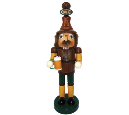 "14"" Beer Meister Nutcracker by Santa's Workshop"
