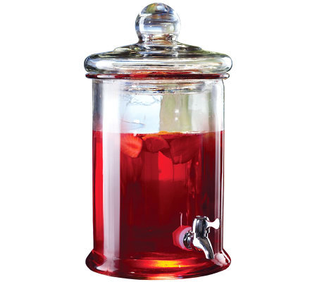 Norfolk Glass Beverage Dispenser
