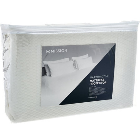 MISSION Vapor Active Full Mattress Protector