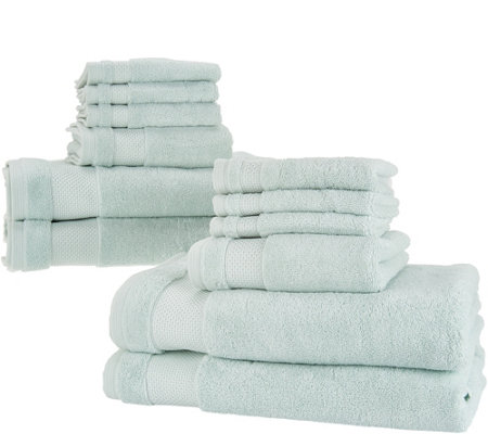 Scott Living 12-Piece 100% HygroCotton Bath Towel Set