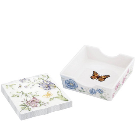 Lenox Butterfly Meadow Box with Napkins