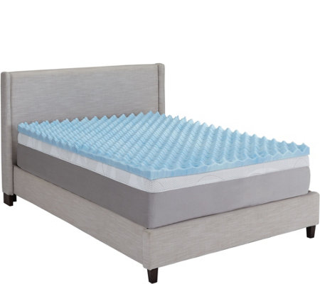 "ComforPedic by Beautyrest 3"" Mem. Foam Reversible KG Topper"