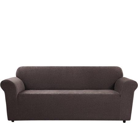 Sure Fit Stretch Chenille 1 Piece Sofa