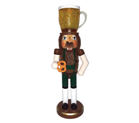 14 Beer Pretzel Nutcracker By Santa S Workshop