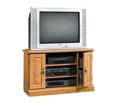 Sauder Orchard Hills Collection Corner Tv Stand Page 1 Qvc Com