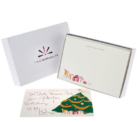 Isaac Mizrahi Live! Holiday Notecards