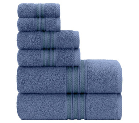 Briarwood Home Luxury Soft Ringspun 6-Piece Bath Towel Set