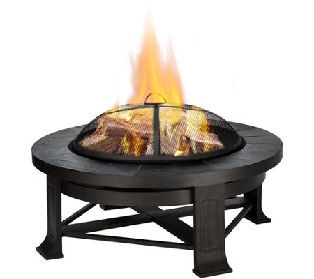 Real Flame Edwards Wood-Burning Fire Pit