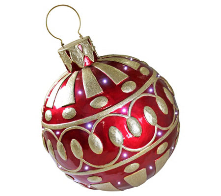 Design Toscano Holiday Led Illuminated Ornamentstatue